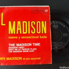 Discos de vinilo: HARRI MADISON. THE MADISON TIME. MADISON TWIST. +2 TEMAS. RCA. 1962. Lote 207863575