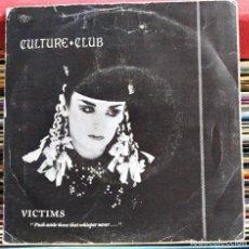 "Dischi in vinile: CULTURE CLUB - VICTIMS (7"", SINGLE) (VIRGIN) B-106.015 (D:VG+). Lote 207865477"