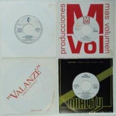 """Discos de vinilo: [[ LOTE 7"""" 45RPM ]] TRIKOSFONIA -MUÉVETE MEDITERRÁNEO / JOY SALINAS / VALANZÉ / RAY -QUIERO VERTE. Lote 207869850"""