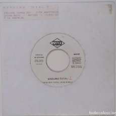"Discos de vinilo: MAQUINA TOTAL 2 DISCO PROMOCIONAL PROVISIONAL [EXCLUSIVO DIFÍCIL DE CONSEGUIR] [VINILO 7"" 45RPM]. Lote 207874843"