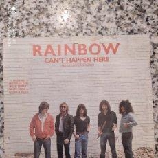Discos de vinilo: RAINBOW - CAN'T HAPPEN HERE. SINGLE VINILO. Lote 207876847