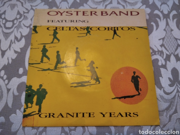 SINGLE CELTAS CORTOS OYSTER BAND GRANITE YEARS (Música - Discos de Vinilo - EPs - Grupos Españoles de los 70 y 80)