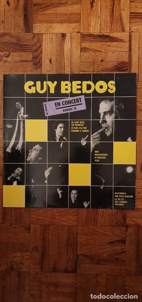 GUY BEDOS EN CONCERT BOBINO 78 - LP (Música - Discos - LP Vinilo - Canción Francesa e Italiana)