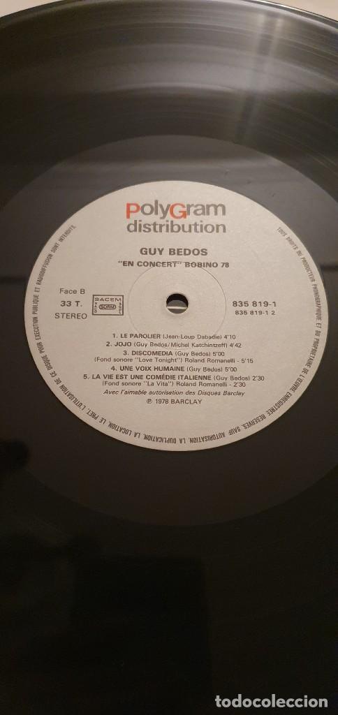Discos de vinilo: Guy Bedos en Concert Bobino 78 - Lp - Foto 3 - 207893918
