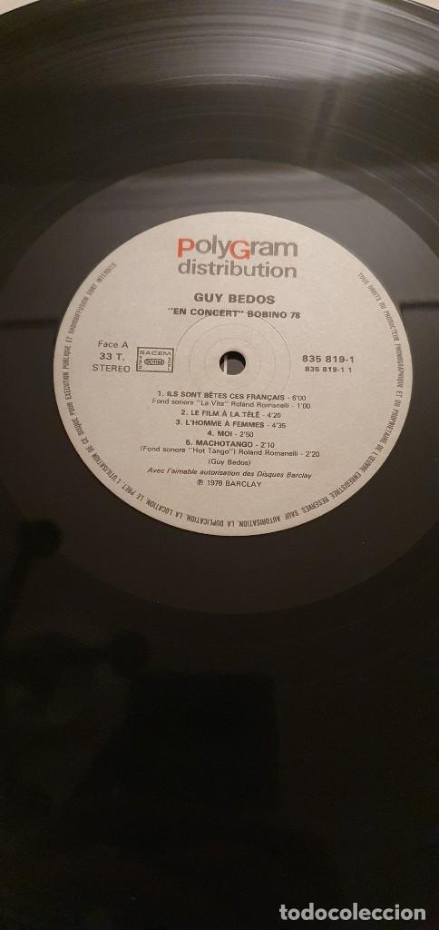 Discos de vinilo: Guy Bedos en Concert Bobino 78 - Lp - Foto 4 - 207893918