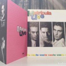 """Discos de vinilo: MATRICULA UVE -TE VAS [[INCLUYE EXCLUSIVA CARTA DE PRESENTACIÓN DE DISCOGRÁFICA]] MAXI 7"""" 45RPM. Lote 207897766"""