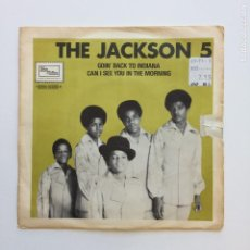 Discos de vinilo: THE JACKSON 5 ?– GOIN' BACK TO INDIANA / CAN I SEE YOU IN THE MORNING SWEDEN 1970 TAMLA. Lote 207904595