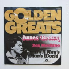 Discos de vinilo: JAMES BROWN ?– SEX MACHINE / IT'S A MAN'S MAN'S WORLD GERMANY POLYDOR. Lote 207905412