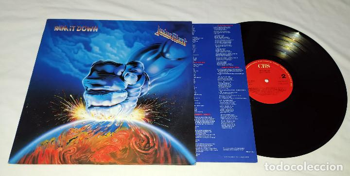 Discos de vinilo: LP JUDAS PRIEST - RAM IT DOWN - Foto 3 - 207912952