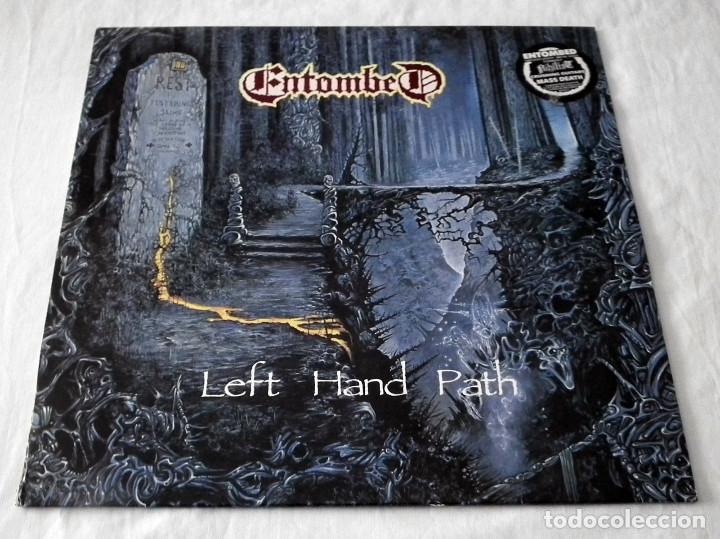 LP ENTOMBED - LEFT HAND PATH (Música - Discos - LP Vinilo - Heavy - Metal)