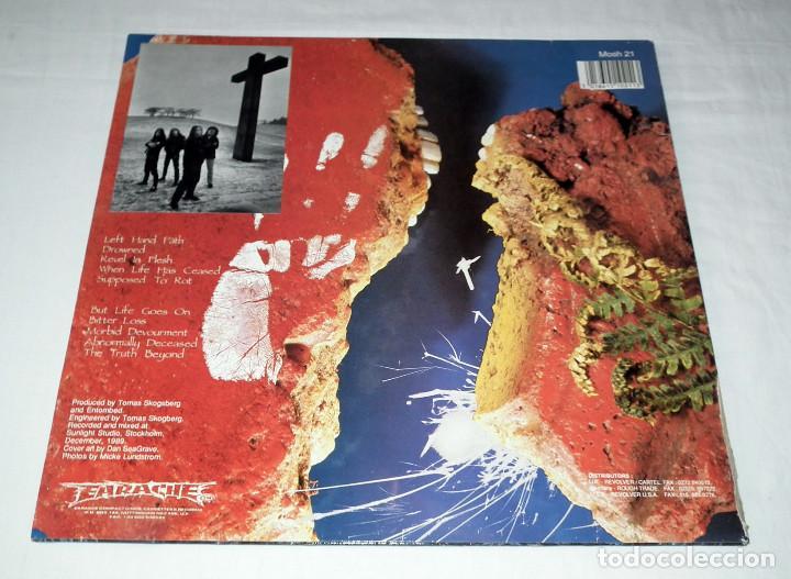 Discos de vinilo: LP ENTOMBED - LEFT HAND PATH - Foto 2 - 207913281
