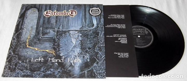 Discos de vinilo: LP ENTOMBED - LEFT HAND PATH - Foto 3 - 207913281