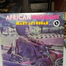 Discos de vinilo: MARY AFI USUAH–AFRICAN WOMAN - LP VINILO NUEVO PRECINTADO. AFROBEAT NIGERIA. Lote 207935571