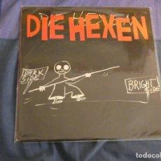 Discos de vinilo: LP DIE HEXEN DARK SIDE BRIGHT SIDE 1991 ESTADO CORRECTO DE VINILO. Lote 207940717