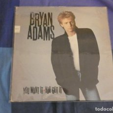 Discos de vinilo: LP BRYAN ADAMS YOU WANT IT YOU GOT IT VINILO BUEN ESTADO. Lote 207951950