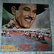 Discos de vinilo: RARO DISCO RETRO DE VINILO DE PEDRO INFANTE. ANTIGUO DISCO LP.. Lote 207961801