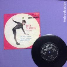 Discos de vinilo: SINGLE RAY MARTIN Y SU ORQUESTA - THE MIME'S THEME THE BOULEVARD OF BROKEN DREAMS. VG. Lote 207967841