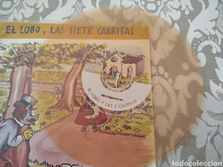 Discos de vinilo: Disco Cuento El Lobo y las siete Cabritas - Foto 3 - 208020087