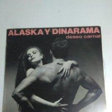 Discos de vinilo: DISCO ALASKA Y DINARAMA DESEO CARNAL. Lote 208025253
