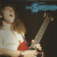 Discos de vinilo: PAUL SAMSON JOIN FORCES. Lote 208030553