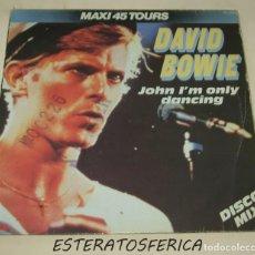 Discos de vinilo: DAVID BOWIE - JOHN I'M ONLY DANCING - RCA FRANCE 1979. Lote 208034918