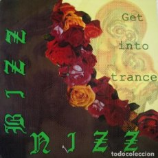Discos de vinilo: BIZZ NIZZ, GET INTO TRANCE - SINGLE PROMO TECHNO SPAIN 1990. Lote 208038488
