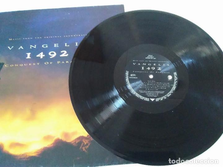 Discos de vinilo: 58-LP VANGELIS, 1492 the conquest of paradise, 1992 - Foto 2 - 208040148