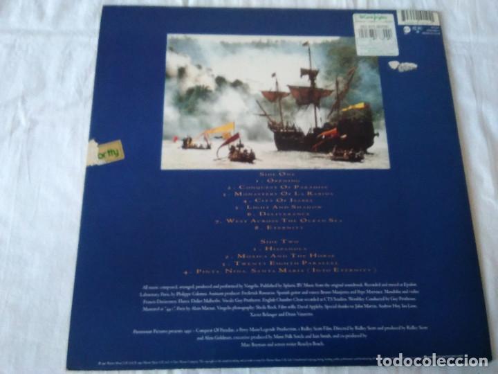 Discos de vinilo: 58-LP VANGELIS, 1492 the conquest of paradise, 1992 - Foto 3 - 208040148