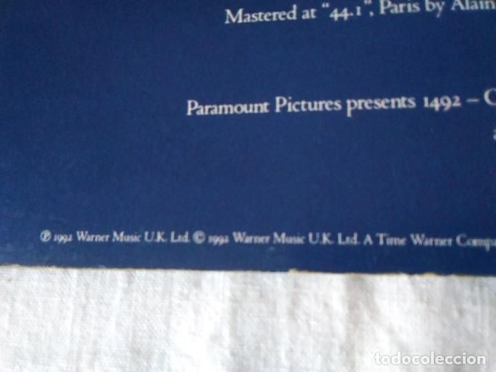 Discos de vinilo: 58-LP VANGELIS, 1492 the conquest of paradise, 1992 - Foto 4 - 208040148