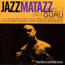 Disques de vinyle: GURU ‎– JAZZMATAZZ VOLUME II (THE NEW REALITY) -2 LP-. Lote 251218955