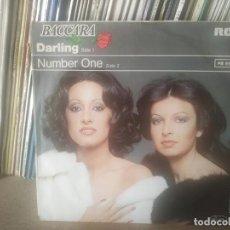 Discos de vinilo: BACCARA - DARLING - EDIC ALEMANIA. Lote 26002109