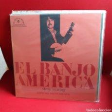 Discos de vinilo: STEVE WARING 'EL BANJO AMERICA' LP. Lote 208073942