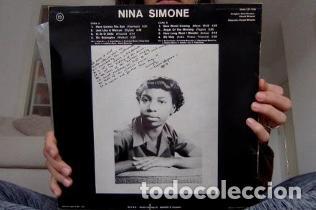 LP NINA SIMONE – NINA SIMONE. (Música - Discos - Singles Vinilo - Pop - Rock - Extranjero de los 70)