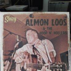 Discos de vinilo: ALMON LOOS & THE HOOP N' HOLLERS-GETTIN' LOOS . LO VINILO PRECINTADO. ROCKABILLY. Lote 208076893