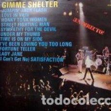 Discos de vinilo: LP ROLLING STONES – GIMME SHELTER. Lote 208077043