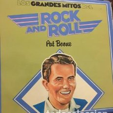 Discos de vinilo: LP LOS GRANDES MITOS DEL ROCK AND ROLL – PAT BOONE. Lote 208078850