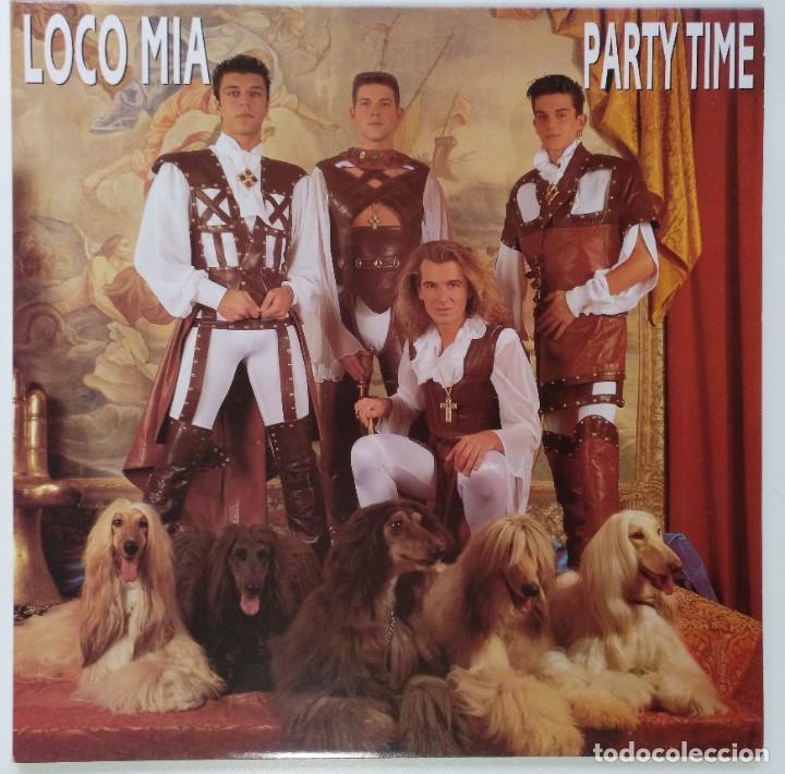 """LOCO MIA - PARTY TIME (LP DE 8 TEMAS) [EXCLUSIVO DIFÍCIL DE CONSEGUIR] [ VINILO LP 12"""" 33RPM ] 1993 (Música - Discos - LP Vinilo - Grupos Españoles de los 90 a la actualidad)"""