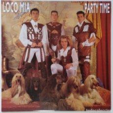 """Discos de vinilo: LOCO MIA - PARTY TIME (LP DE 8 TEMAS) [EXCLUSIVO DIFÍCIL DE CONSEGUIR] [ VINILO LP 12"""" 33RPM ] 1993. Lote 208079028"""