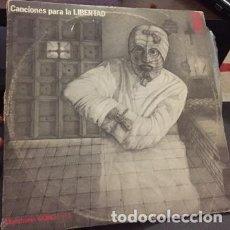 Discos de vinilo: DOBLE LP - MUESTRARIO GONG : N 1 - CANCIONES PARA LA LIBERTAD. Lote 208080130
