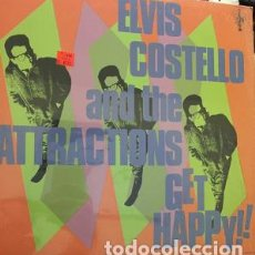 Discos de vinilo: LP - ELVIS COSTELLO AND THE ATTRACTIONS - GET HAPPY.. Lote 208082306