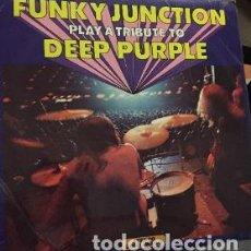 Discos de vinilo: LP FUNKY JUNCTION - ATRIBUTE TO DEEP PURPLE. Lote 208091715