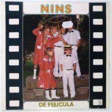 """Discos de vinilo: [ VINILO LP 12"""" 33RPM ] GRUPO PARCHIS NINS DE PELICULA (LP DE 10 TEMAS) ] 1985. Lote 208092825"""
