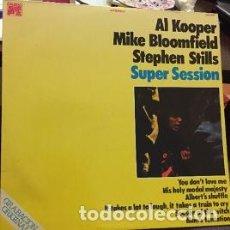Discos de vinilo: AL KOOPER, MIKE BLOOMFIELD, STEPHEN STILLS – SUPER SESSION. CAUDAL 1972. Lote 208093153