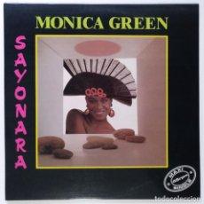 "Discos de vinilo: MONICA GREEN -SAYONARA [ VINILO MX 12"" 45RPM ] (MX DE 2 TEMAS) ] 1992. Lote 208094005"