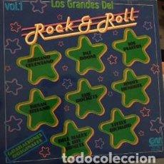 Discos de vinilo: LP LOS GRANDES DEL ROCK&ROLL VOL. 1 – 1978 SPAIN. Lote 208094365