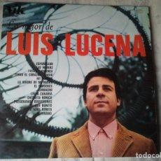 Discos de vinilo: DISCO ANTIGUO DE VINILO LP DE LO MEJOR DE LUIS LUCENA. DEL AÑO 1967. CANTANTE. Lote 208095067