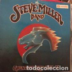 Discos de vinilo: LP STEVE MILLER BAND – GREATEST HITS. Lote 208095106
