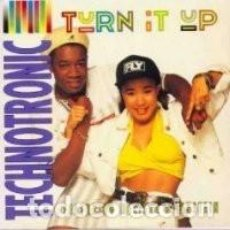 Discos de vinilo: TECHNOTRONIC - TURN IT UP - 12' MAX MUSIC (SPAIN) 1990. Lote 208095887