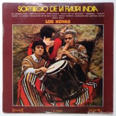 "Discos de vinilo: LOS KOYAS - SORTILEGIO DE LA FLAUTA INDIA [ VINILO LP 12"" 33RPM ] [[LP DE 12 TEMAS 1970 ]]. Lote 208096878"