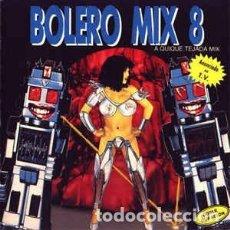 Discos de vinilo: BOLERO MIX 8 - DOBLE LP BLANCO Y NEGRO 1991. Lote 208097785